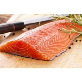 Filet de saumon avec peau (12 Kg)