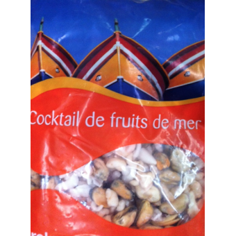 Grossiste cocktail de fruits de mer surgel 1 kg - Cuisiner cocktail de fruits de mer surgele ...