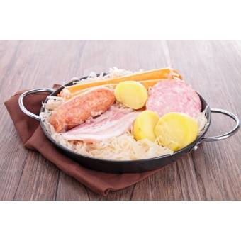 "Kit choucroute au riesling ""hiver"" (1 Kg)"