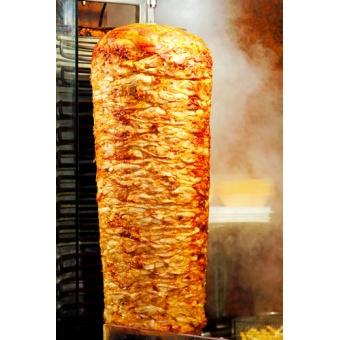 Kebab Poulet en broche (4,2E/kg)
